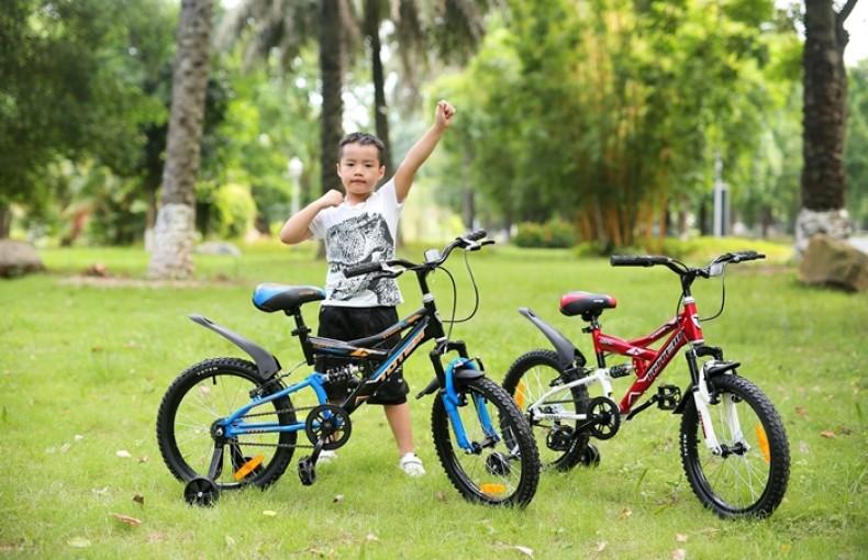 Những lợi ích cho trẻ khi đi xe đạp